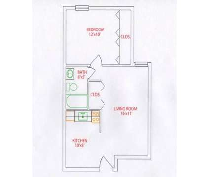 1 Bed - Bellevue Sheridan Apartments at 88 Sheridan Ave in Bellevue PA is a Apartment