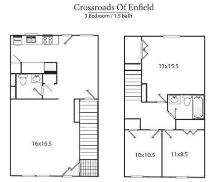 3 Beds - Crossroads of Enfield at 91 Daro Drive in Enfield CT is a Apartment