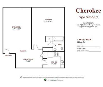 1 Bed - Cherokee Apartments at 7715 Mccallum St in Philadelphia PA is a Apartment