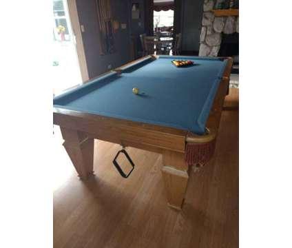 Pool Table Brunswick Billiards Installed New Cloth
