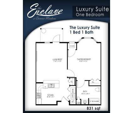 1 Bed - The Enclave at Duncan Meadows at 2 Donna Way in Troy NY is a Apartment