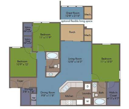 3 Beds - Abberly Crest Apartment Homes at 46850 Abberly Crest Ln in Lexington Park MD is a Apartment