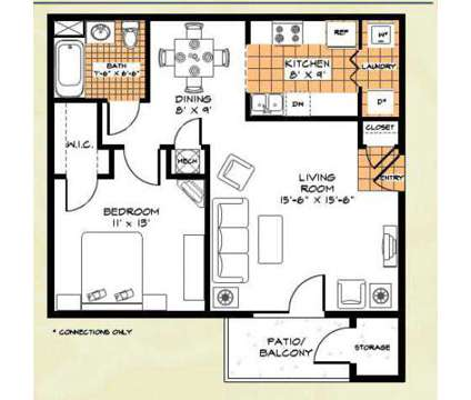 1 Bed - Riverwood Apartments at 342 Riverwood Drive in Crestview FL is a Apartment