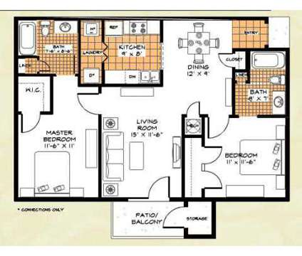2 Beds - Riverwood Apartments at 342 Riverwood Drive in Crestview FL is a Apartment