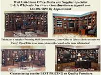 Parker House Entertainment Wall Units Office Furniture & More