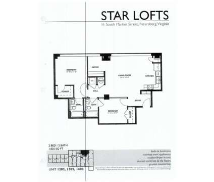 2 Beds - Star Lofts at 16 S Market St in Petersburg VA is a Apartment