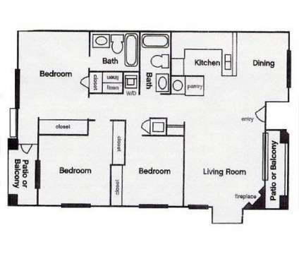 3 Beds - Craig Ranch Villas at 370 Casa Norte Dr in North Las Vegas NV is a Apartment