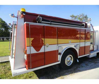 1998 Spartan Custom Rescue Pumper is a 1998 Heavy Equipment Vehicle in Miami FL