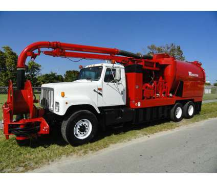 2001 International F-2574 VacCon is a 2001 Heavy Equipment Vehicle in Miami FL