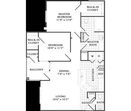 2 Beds - The Vineyards of Colorado Springs at 4350 Mira Linda Point in Colorado Springs CO is a Apartment