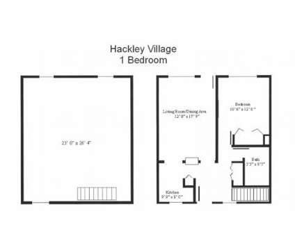1 Bed - The Barclays Apartments, Townhomes and Senior Community at 2081 Barclay St in Muskegon MI is a Apartment
