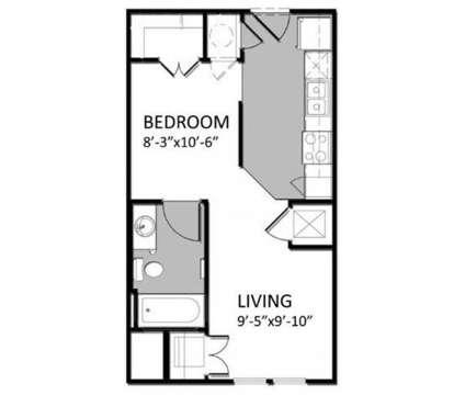 Studio - Auburn Square Apartments at 3386 Auburn Rd in Auburn Hills MI is a Apartment
