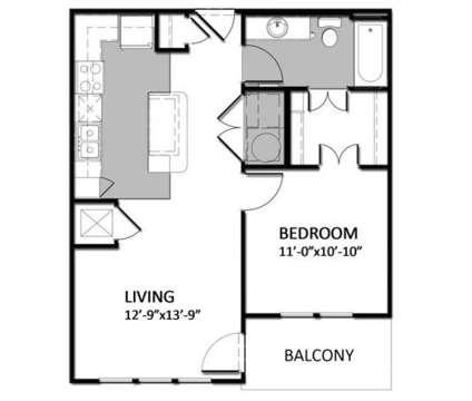 1 Bed - Auburn Square Apartments at 3386 Auburn Rd in Auburn Hills MI is a Apartment