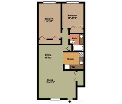 2 Beds - Woodland Village at 401 East Gibbsboro Rd in Lindenwold NJ is a Apartment