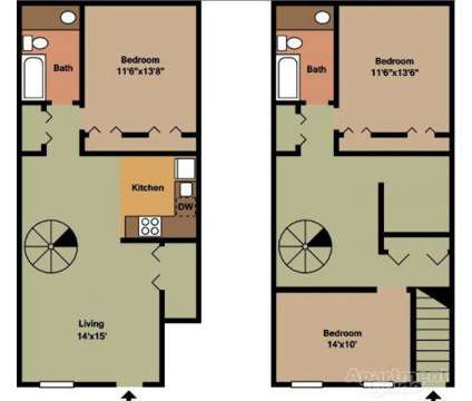 3 Beds - Woodland Village at 401 East Gibbsboro Rd in Lindenwold NJ is a Apartment