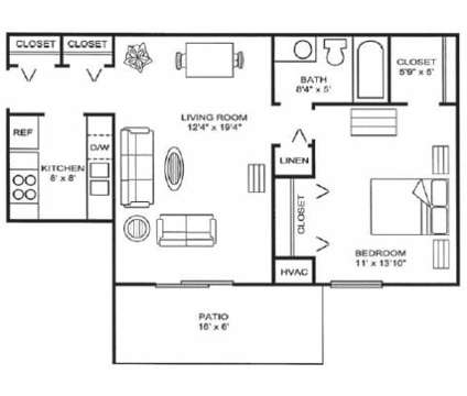 1 Bed - Glen Oaks East Apartments at 2353 Oak Forest Ln Se in Grand Rapids MI is a Apartment