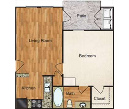 1 Bed - Waterford Park at 9205 Fm 78 in Converse TX is a Apartment