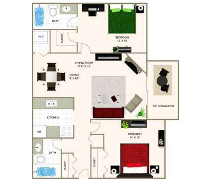 2 Beds - Spring Brook at 1074 W 32nd St in Holland MI is a Apartment