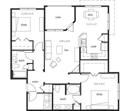 2 Beds - Nexus at 1299 Ne Orenco Station Parkway in Hillsboro OR is a Apartment