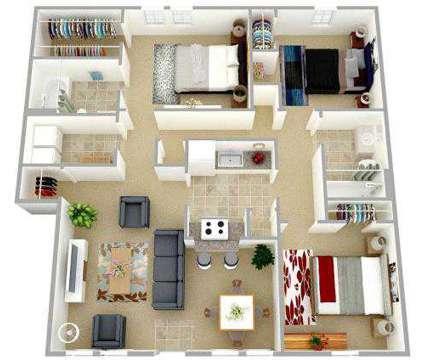 3 Beds - Bridgeport Apartments at 100 Bridgeport Cove Dr in Hampton VA is a Apartment