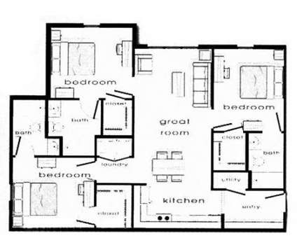 3 Beds - Rockland West at 4301 West 24th Place in Lawrence KS is a Apartment