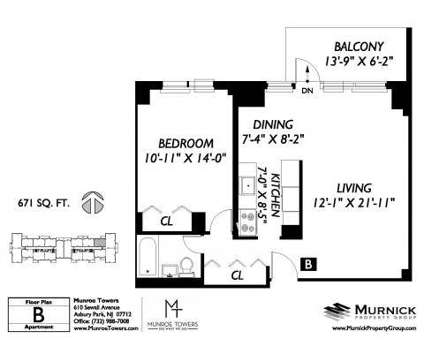 1 Bed - Munroe Towers at 610 Sewall Ave in Asbury Park NJ is a Apartment