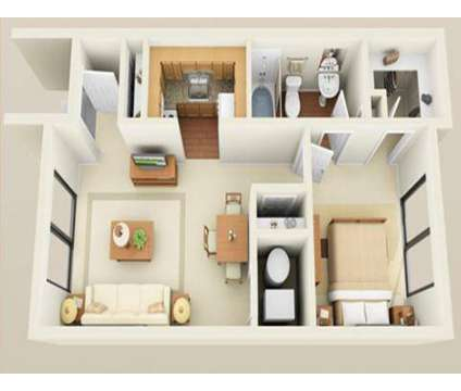 1 Bed - Legacy Bay Townhomes at 436 Glenwood Rd in Binghamton NY is a Apartment