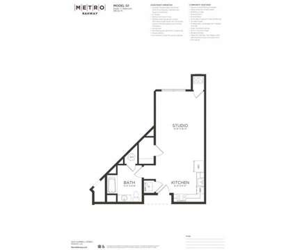 Studio - Metro Rahway at 1420 Campbell St in Rahway NJ is a Apartment