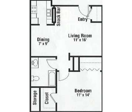1 Bed - Harper Square Apartments at 22933 N Nunneley Rd in Clinton Township MI is a Apartment