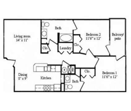 2 Beds - E-State Apartments at 2130 Silicon Ave in Lawrence KS is a Apartment