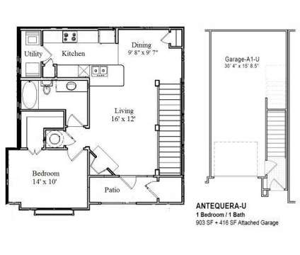 1 Bed - Andalucia Villas at 5300 Antequera Road Nw in Albuquerque NM is a Apartment