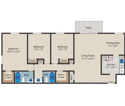 3 Beds - Cider Mill Apartments at 18201 Lost Knife Circle in Gaithersburg MD is a Apartment