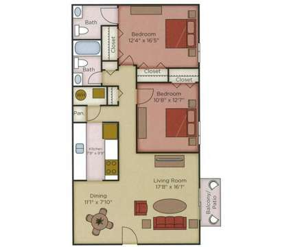 2 Beds - The Villas at 2085 Waterford Place in Indianapolis IN is a Apartment