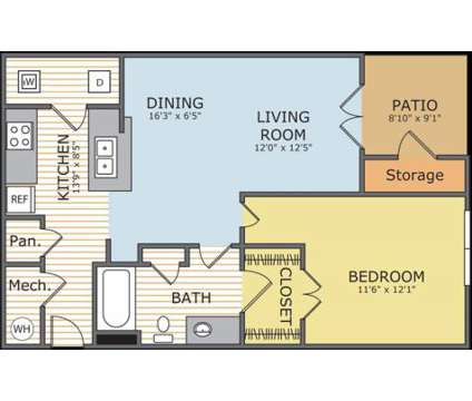 1 Bed - Station Square at Cosner's Corner at 9419 Cumberland Dr in Fredericksburg VA is a Apartment