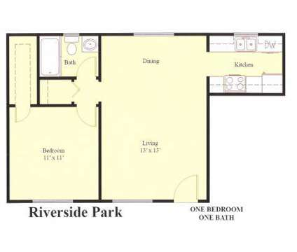 1 Bed - Riverside Park at 310 Woodbine St in Hopewell VA is a Apartment