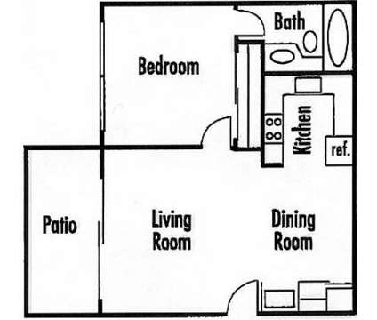 1 Bed - Meadow Lakes Apartments at 1401 Lakewood Avenue in Modesto CA is a Apartment