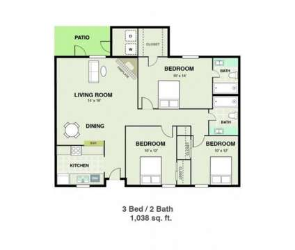 3 Beds - 6947 Everhart at 6947 Everhart Road in Corpus Christi TX is a Apartment