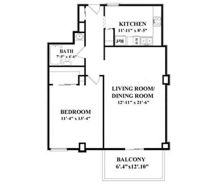 1 Bed - The Longwood at 1575 Tremont St in Boston MA is a Apartment
