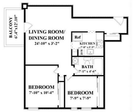 2 Beds - The Longwood at 1575 Tremont St in Boston MA is a Apartment