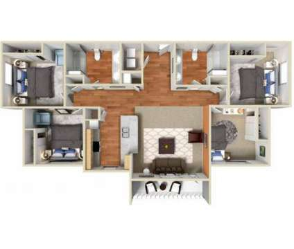 4 Beds - The Edge at 706 Napoleon Rd in Bowling Green OH is a Apartment