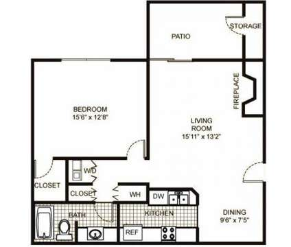 1 Bed - The Meadows at 450 Sullivan Lake Blvd in Lakemoor IL is a Apartment