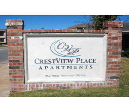 1 Bed - Crestview Place at 950 W Thompson St in Decatur TX is a Apartment