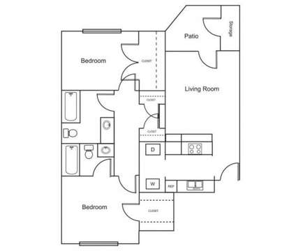2 Beds - Crestview Place at 950 W Thompson St in Decatur TX is a Apartment