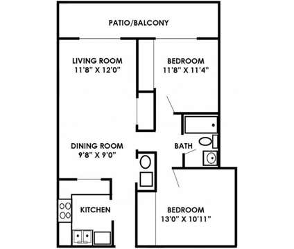 2 Beds - Man O War Crossing at 2845 Palumbo Dr Suite 9-c in Lexington KY is a Apartment