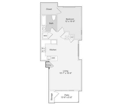 1 Bed - Broadmoor Apartments at 10305 Chapel Hill Boulevard in Pasco WA is a Apartment
