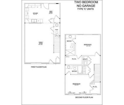 2 Beds - Townhomes of Chilesburg Park at 840 Hays Boulevard in Lexington KY is a Apartment