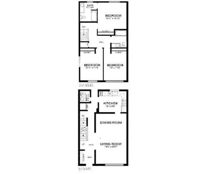 3 Beds - Hiddentree Apartments & Townhomes at 410 Pine Forest Dr in East Lansing MI is a Apartment
