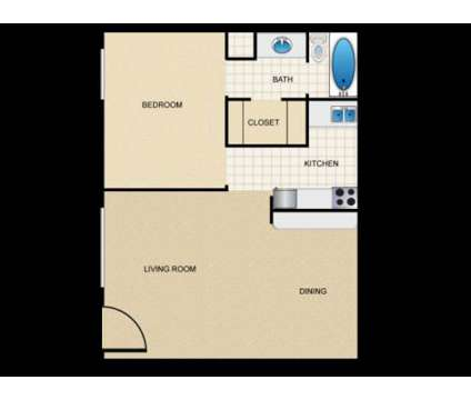 1 Bed - Montecito Club at 2001 S Cooper St in Arlington TX is a Apartment