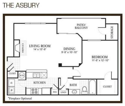 1 Bed - Abbey at Hightower at 6889 Hightower Drive in North Richland Hills TX is a Apartment
