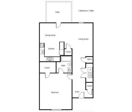 1 Bed - Three Rivers Landing at 13120 Three Rivers Rd in Gulfport MS is a Apartment